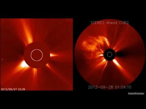 G3 Class Geomagnetic Storm / Solar Watch Oct 1, 2012