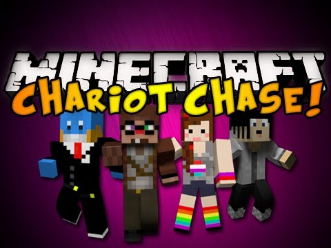 Minecraft Mini-Game: Chariot Chase - Part 1 (HD)
