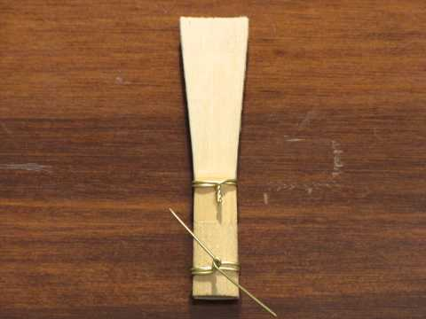 Bassoon Reed Making 101