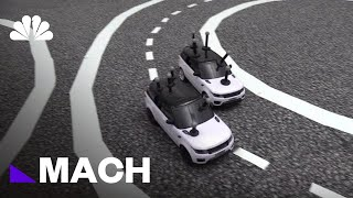 How A Fleet Of Toy Cars Could Teach Autonomous Vehicles To Drive Cooperatively | Mach | NBC News - NBCNEWS