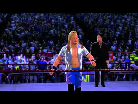 WWE '13 Y2J Chris Jericho Entrance + Finisher Attitude Era
