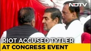 Controversy Over Jagdish Tytler In Front Row At Sheila Dikshit's Takeover - NDTV