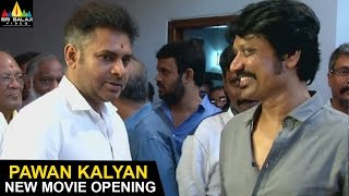 Pawan Kalyan and SJ Surya Movie Opening Video | Sri Balaji Video - SRIBALAJIMOVIES