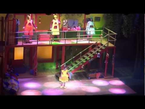 4/5 Topa  Muni  y CLARILU ABC el Teatro Gran Rex Febrero 2012 La Casa de Disney Junior Canciones