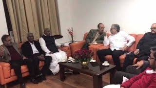 Opposition leaders meet ahead of winter session of Parliament - TIMESOFINDIACHANNEL