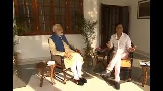 PM Narendra Modi tells Akshay Kumar: Never Dreamt of becoming Prime Minister - NEWSXLIVE