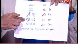 """عالم مصريات يُجيب على معني كلمة """"شم النسيم"""""""