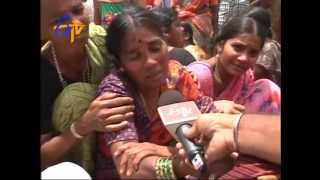 School Bus Accident : Relatives Are In Deep Sorrow - ETV2INDIA