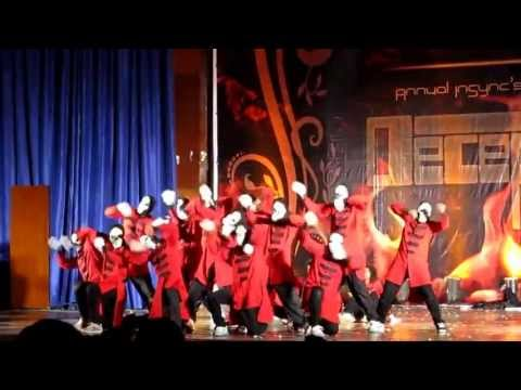Annual InSync Dance Show 2012 AIDS)  IIT Bombay Part(1)