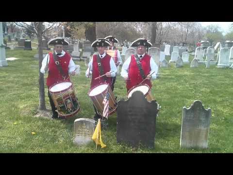 Monumental City Ancient Fife & Drum Corps pays tribute to Revolutionary War drummer, John W. Hunter