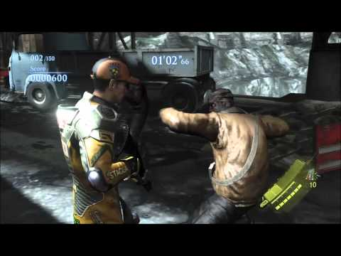 RE6 Unique Melee Moves, Special Quick Shot and Taunts Exhibition