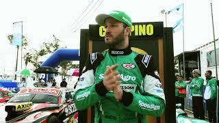 Agustín Canapino estrenó auto y subió al podio en el #TCenRafaela