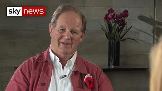 'War Horse' author on what the poppy means for him - SKYNEWS