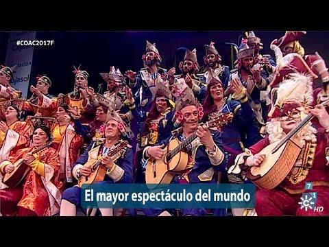 Sesión de Final, la agrupación El mayor espectáculo del mundo actúa hoy en la modalidad de Coros.