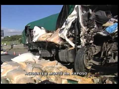 Homem morre em acidente na Rodovia Raposo Tavares em Sorocaba