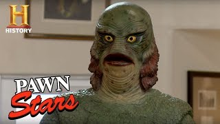 Pawn Stars: Life-Size Creature from the Black Lagoon Replica - HISTORYCHANNEL