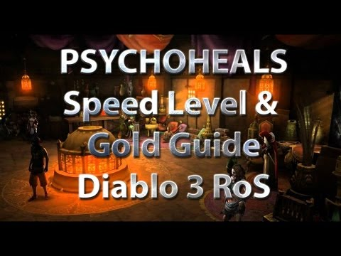 Diablo 3 Level 1-70 and 20M Gold in 60 mins - Part 1 Sicht des Ziehenden