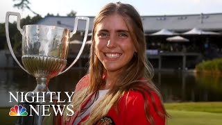 Acclaimed Iowa State Golfer Found Dead, Man Charged With Murder | NBC Nightly News - NBCNEWS
