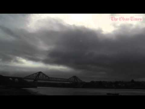Connel Bridge solar eclipse