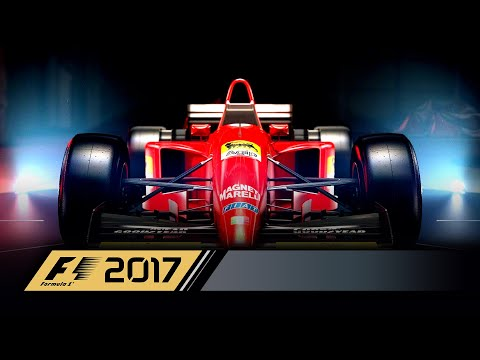 Видео: Четыре классических Ferrari в видеоигре F1 2017