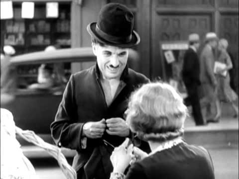 City Lights ending - Charlie Chaplin