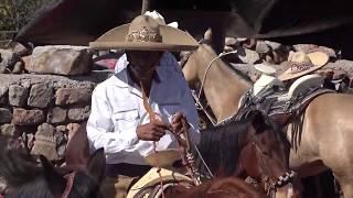 Coleaderos en Estancia de Guadalupe (Sombrerete, Zacatecas)