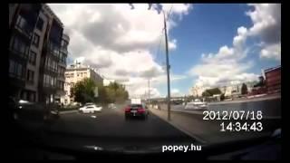 Figyelmetlen autósok balesetei