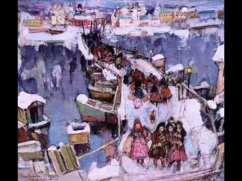 Зимняя пора: снег в искусстве