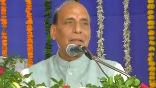We consider our neighbours as relatives, but one of them doesn't listen: Rajnath Singh - TIMESOFINDIACHANNEL