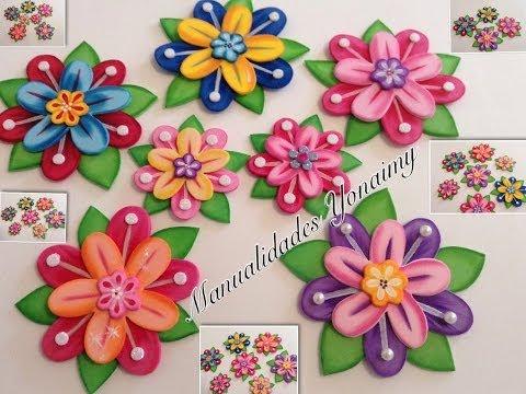 Flores De Foami Sencillas Imagui