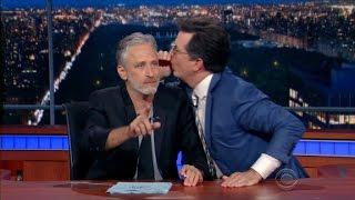 Jon Stewart takes over 'Late Show,' rips RNC - CNN