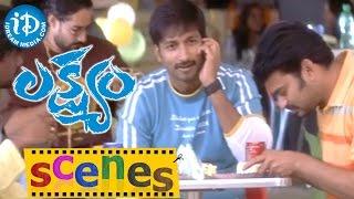 Lakshyam Movie Scenes || Anushka, Gopichand Comedy Phone Call Scene - IDREAMMOVIES