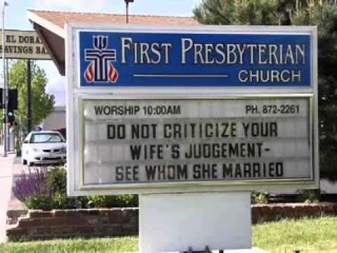 Funny and Hilarious Church Signs - Godvine.com