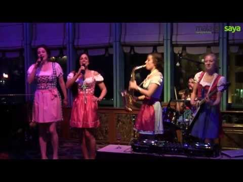 The Oompah Girls - Octoberfest Malaysia 2013