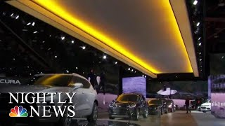 Automakers Ditch Sedans At Detroit Auto-Show | NBC Nightly News - NBCNEWS