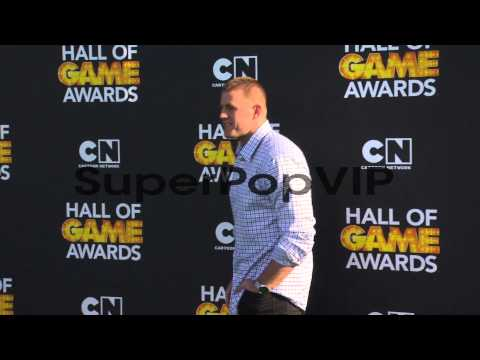 J.J. Watt at Cartoon Network Hosts Third Annual Hall Of G...
