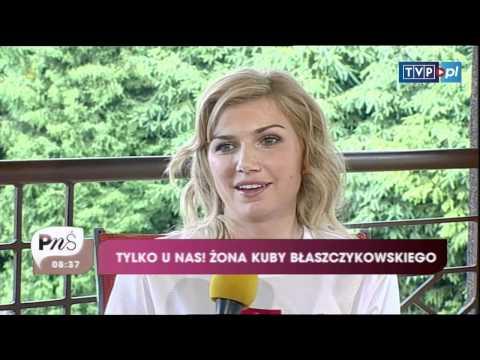 """Agata Błaszczykowska w """"Pytaniu na śniadanie"""""""