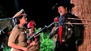 Mohan Babu Caught By Vijayashanti | Kondaveeti Donga Drama Scene - LEHRENTELUGU