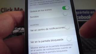 iphone espa?ol tutoriales C?mo Activar o desactivar notificaciones whatsapp iphone iOS 7 ios8