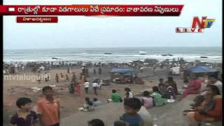 Heavy Rush to Vizag RK Beach due to High Temperature
