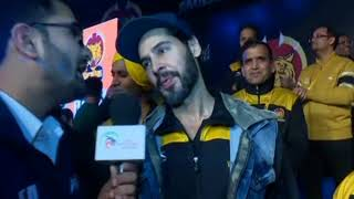 PWL 3 Day 13: Dino Morea shows his support for Veer Marathas at Pro Wrestling League season 3 - NEWSXLIVE