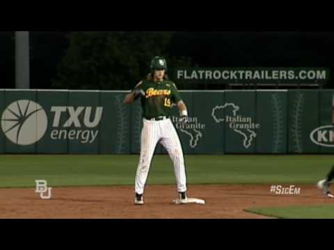 Baylor Baseball: Highlights vs Sam Houston St.