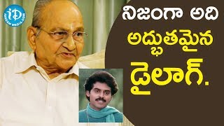Swarnakamalam Movie dialogues Awesome - Director K Vishwanath | Vishwanath Amrutham - IDREAMMOVIES
