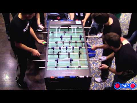 Foosball (Table-Soccer) Maritim Open 2013, Open Doubles Final