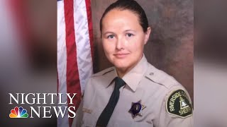 Deputy Tracey Newton Makes Life-Saving Kidney Donation To A Stranger | NBC Nightly News - NBCNEWS