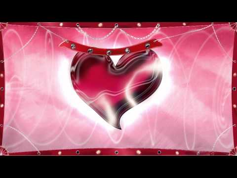 animated background - heart with lights red background HD - Fondos animados Rojo Full HD.m2v
