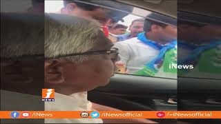 TJAC Chairman Kodandaram Serious On Police Over Take In Custody | iNews - INEWS