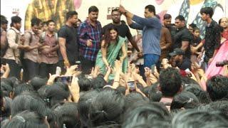 Actress Samantha Craze @ Vizag  Jaanu Promotions | Sharwanand | TFPC - TFPC