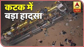 Odisha: 9 dead after bus with 30 people falls off Mahanadi bridge - ABPNEWSTV