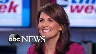 Ambassador Haley: 'I've never heard' Cabinet consider invoking 25th Amendment - ABCNEWS